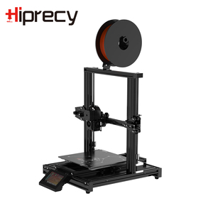 Image 2 - Hiprecy LEO 1S 3D Printer Magnetic Heatbed ALL Metal Printer Support 1.75mm PLA I3 DIY KIT Hotbed Dual Z axis TFT Screen ender 3