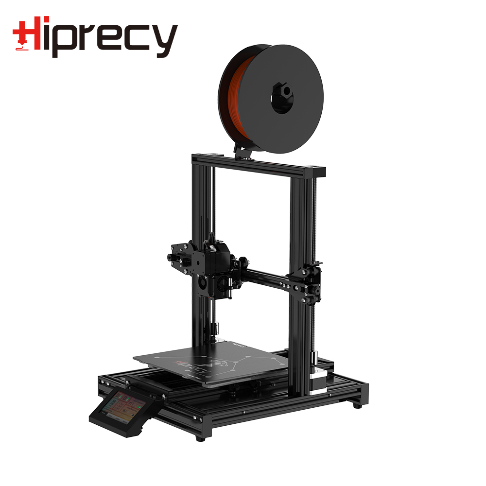 Hiprecy LEO 3D Printer ALL Metal Printer Support 1.75mm PLA I3 Magnetic Heatbed DIY KIT Hotbed Dual Z-axis TFT Screen VS ender 3 image