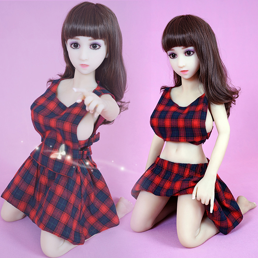 100cm Quality Silicone TPE Love <font><b>Doll</b></font> with Metal Skeleton <font><b>Sex</b></font> <font><b>Dolls</b></font> Japanese oral Lifelike <font><b>Doll</b></font> Vagina Real Pussy Life Size Sexy image