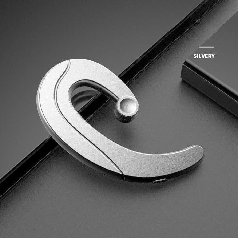 Headphone Bluetooth Earphone Ear Hook Painless Headset For iPhone  Samsung Bone Conduction Earphone Bluetooth