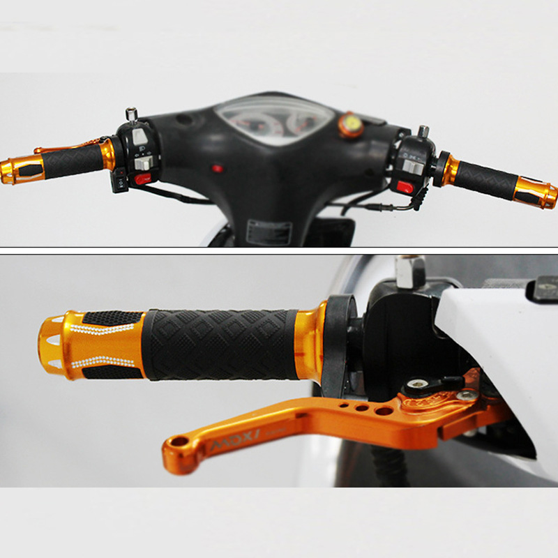 Motorcycle Parts Heating 12v Motorcycle Handle Motocross Suitable For 22mm Throttle Diameter Handle Grips