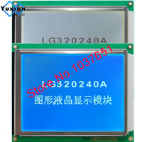 320240 lcd display RA8835 blauw of FSTN witte led met touch panel LG320240A in plaats WG320240C0-TMI-TZ # HG32024014