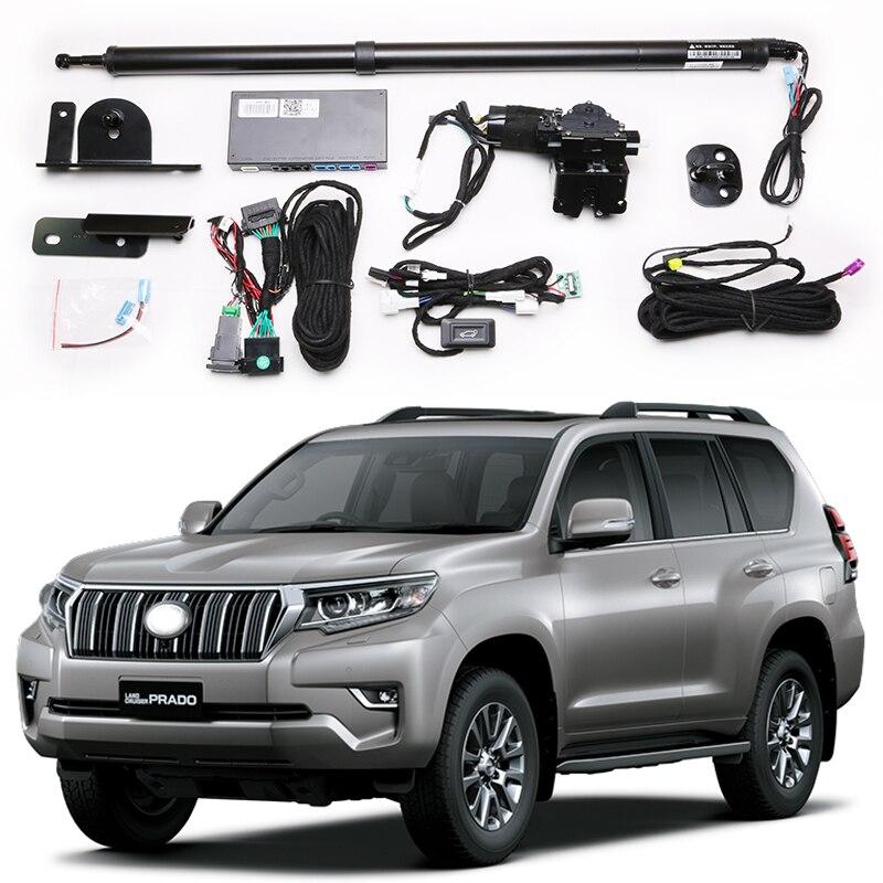 Para a porta traseira elétrica aberta lateral de toyota prado, sensor de perna, porta traseira automática, modificação de bagagem, fontes automotivas