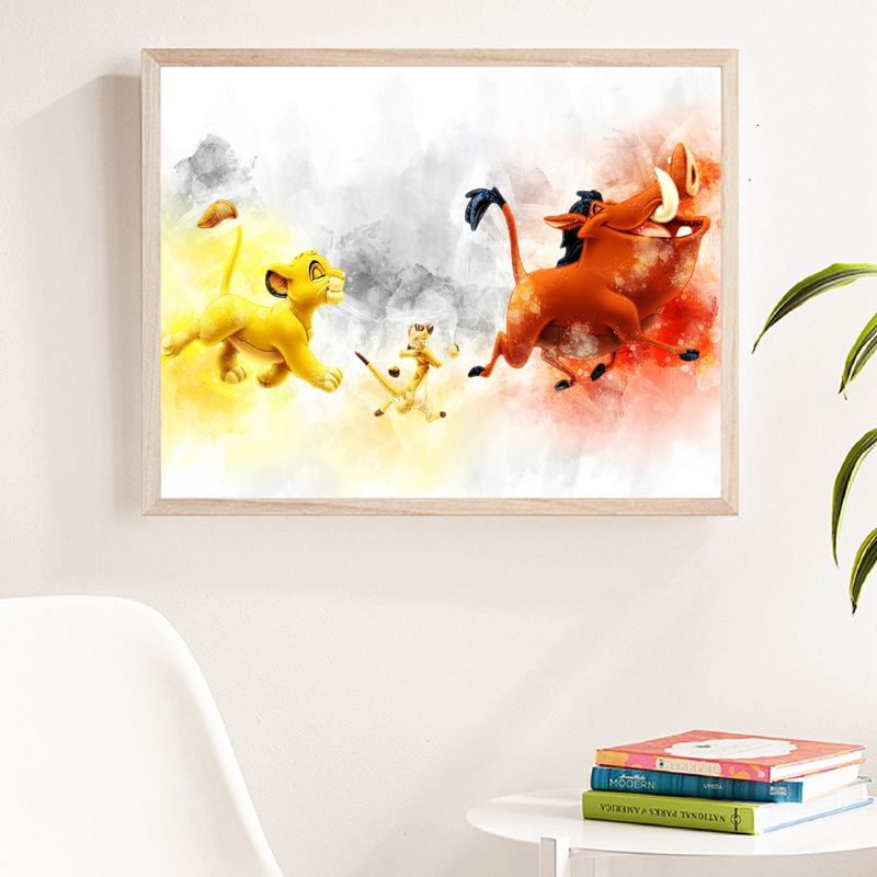 Hakuna Matata Lion King Canvas Print