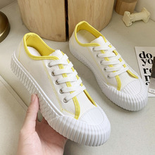 Women Canvas Shoes Platform Sneakers INS Korean Fashion Casu