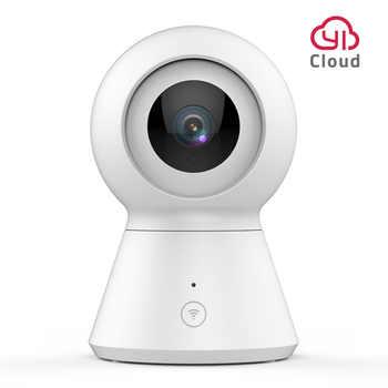 Камера видеонаблюдения YI Dome Camera 1080p | Беспроводное подключение Wi-Fi | Реакция на детский плач | Функция слежения за объектами: поворот, наклон и...