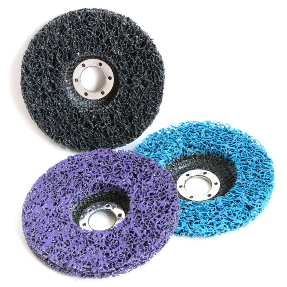 3pcs 125mm Grinding Disc 5 Inch Abrasive Wheel Paint Rust Removal Clean For Angle Grinder