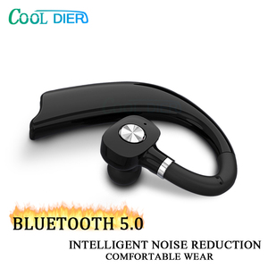 Image 3 - COOL DIER Stereo Wireless Bluetooth Earphone Earhook Business Headset with Mic Handsfree Music Earphones For iPhone Samsung