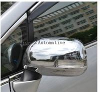 Car Side Mirror Cover rearview mirror cover for TOYOTA VERSO EZ 2011 2012 2013 abs chrome 2pcs per set