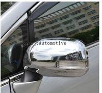 Espelho lateral do carro capa espelho retrovisor capa para toyota verso ez 2011 2012 2013 abs chrome 2pcs por conjunto