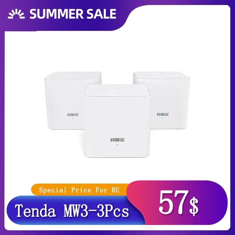 Беспроводной Wi Fi роутер Tenda MW6 Nova, двухдиапазонный Wi Fi роутер AC1200 для всего дома, покрытие Wi Fi, сетчатый беспроводной мост Nova Беспроводные роутеры      АлиЭкспресс