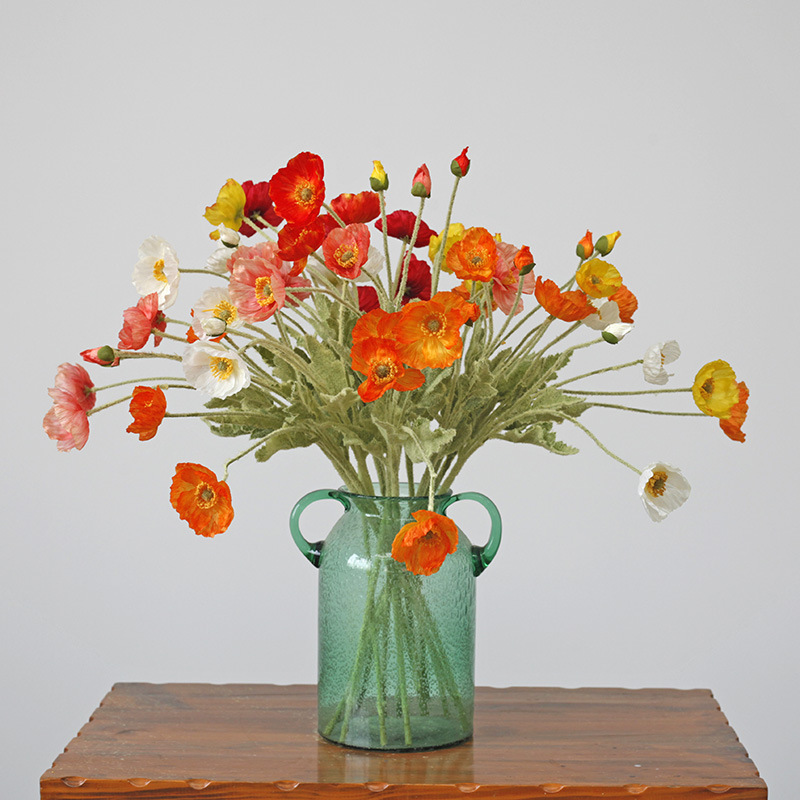 Fake Flowers Oil Painting Home Decoration Home Hotel Decoration Wedding Party Desktop Photography Bouquet Festival Supplies Gift