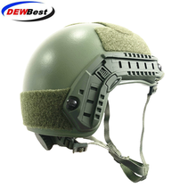 ISO Certified DEWBest bullet proof brand NIJ Level IIIA FAST High Cut Bulletproof Aramid Ballistic Helmet With 8Yrs Warranty