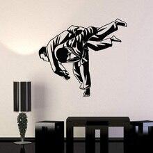 Wallpaper Mural Judo Martial-Arts Bedroom Decoration Youth YD11 Dormitory Wrestling Vinyl