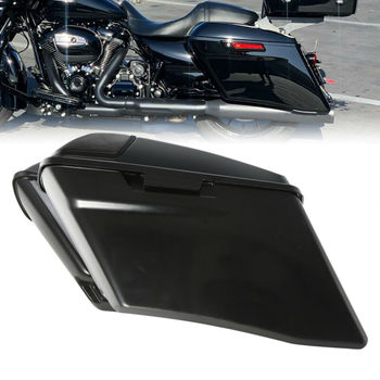"Motorcycle 4"" Extended CVO Saddlebag Lid Kit For Harley Touring Road King Street Electra Glide Ultra Classic 2014-2020 4 colors"