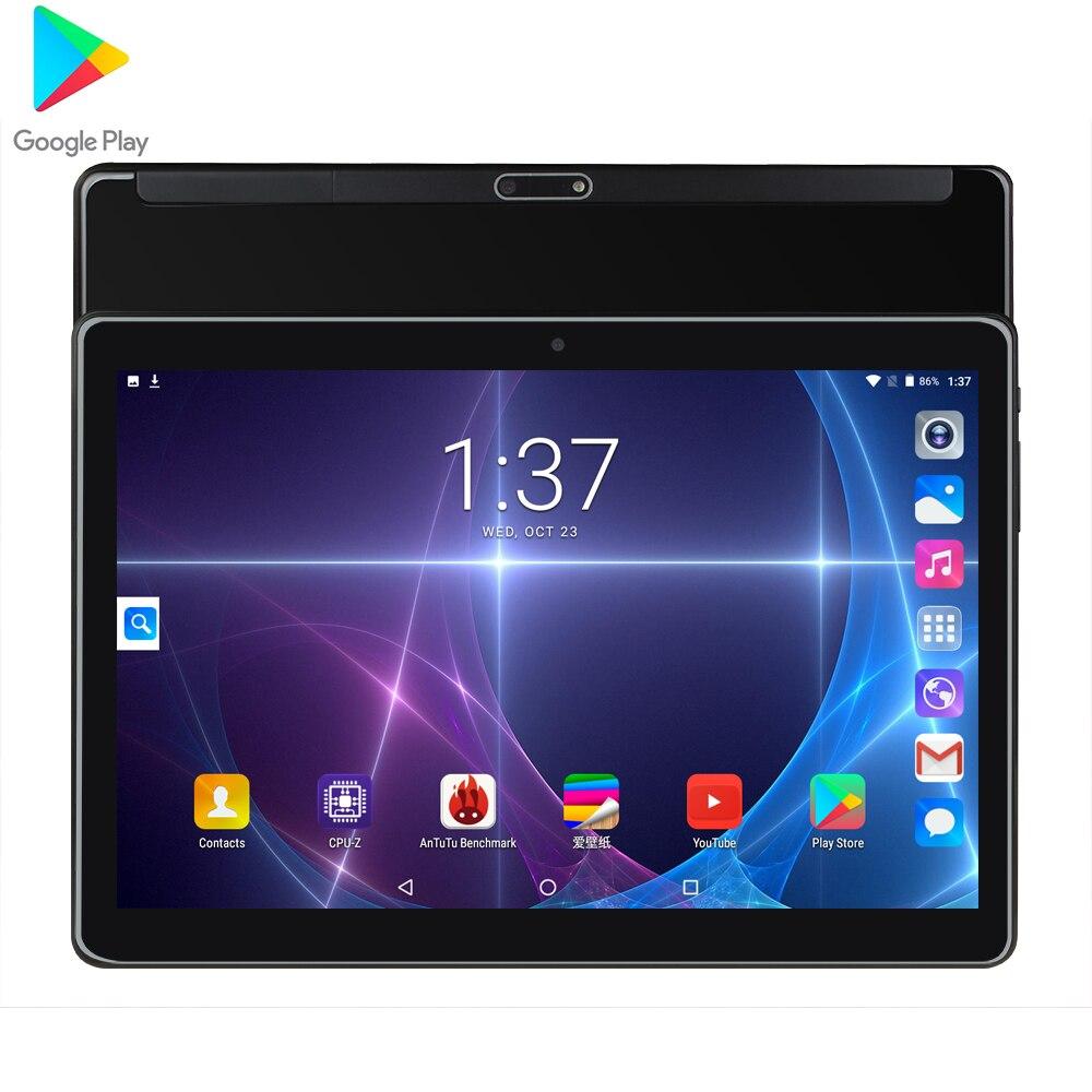 2020 안드로이드 9.0 최신 구글 플레이 스토어 10 인치 데카 코어 태블릿 10.1 8GB RAM 128GB ROM 3G 4G LTE 태블릿 10 무료 배송