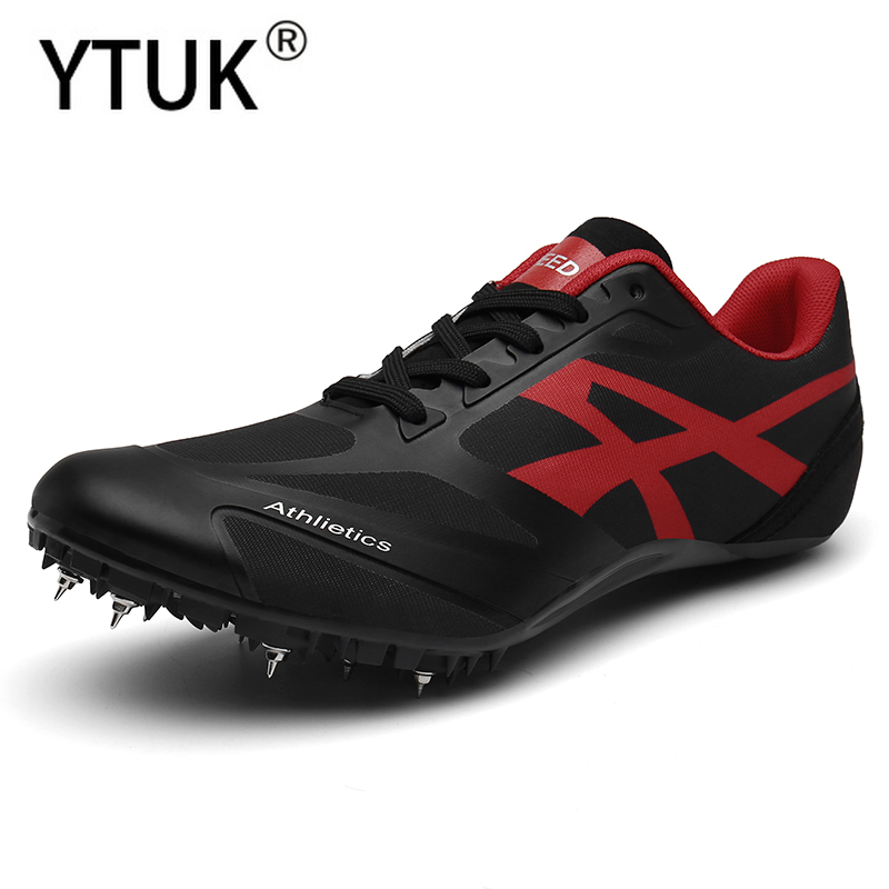 YTUK New Spikes for Running Men Nails Shoes Women Track & Field Shoes Breathable Spikes Sneakers for Running Athletics Footwear