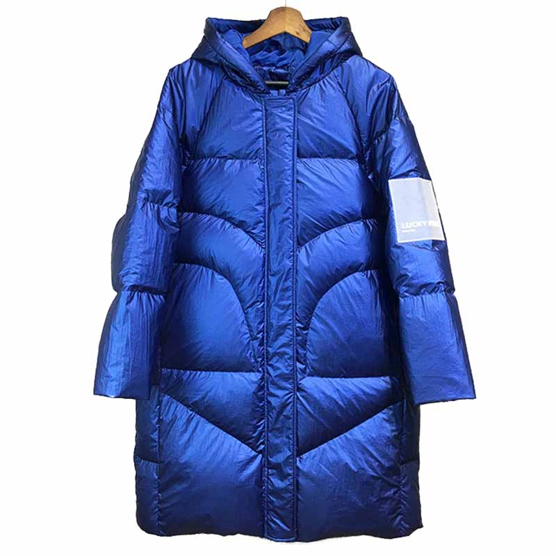 High quality New Fashion Winter   Down   jacket Women Thicken Hooded White duck   down     coat   Large size Keep warm Outerwear Female G538