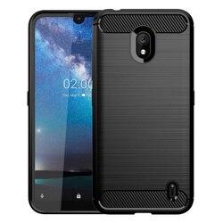 На Алиэкспресс купить чехол для смартфона luxury carbon fiber soft silicone tpu anti scratch shockproof back original case for nokia 2.2 5.71дюйм. cover cases