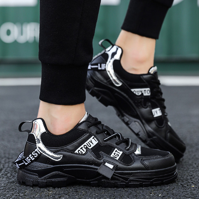 BIGFIRSE Casual Shoes Men New Brand Design Men Casual Shoes Fashion Leisure Designer High Top Shoes Man Trend Flat Sneaker Shoes