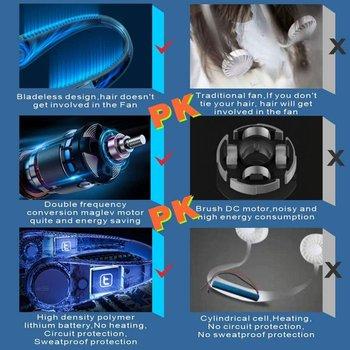 Mini Usb przenośny wentylator z akumulatorem niezwykle cichy przenośny wentylator ręczny chłodnica tanie i dobre opinie CN (pochodzenie)