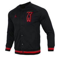 Original Nike JORDAN SHOT MESH BOMBER Mens Black Discount Coats Cloth High Quality
