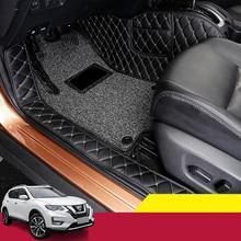 цена на For Nissan X-trail X Trail T32 2014-2020 Car Mats Luxury-Surround Leather Floor Mats Carpet Liners Car Mat Car Interior Modified