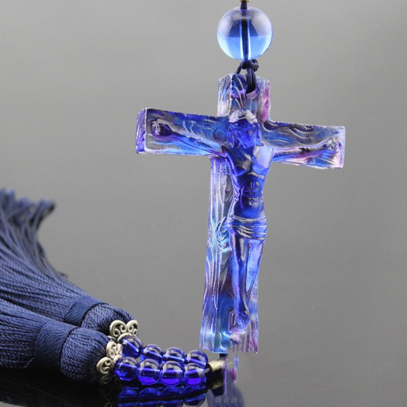 Home House Decorate Christianity  Jesus Christ Ornament Crucifix Cross Hanging