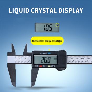 0-150mm LCD cyfrowy elektroniczny noniusz z włókna węglowego zacisk 6 cal mikrometr władca urządzenie pomiarowe suwmiarki przez PROSTORMER tanie i dobre opinie Maszyny do obróbki drewna CN (pochodzenie) Z tworzywa sztucznego 0 02mm PTHT453 PTHT457