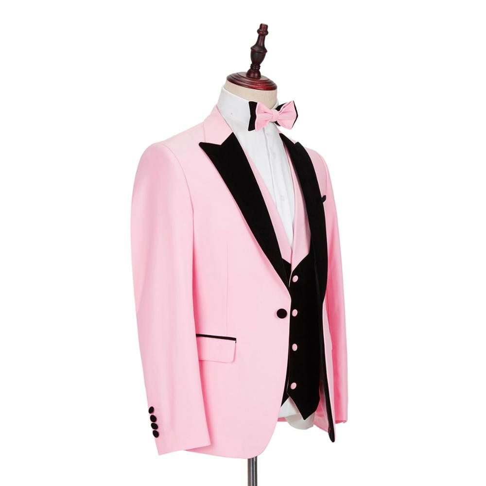 2020-New-Pink-Mens-Suits-3-Piece-Slim-Fit-for-Wedding-Dinner-Suit-for-Men-Blazer (2)