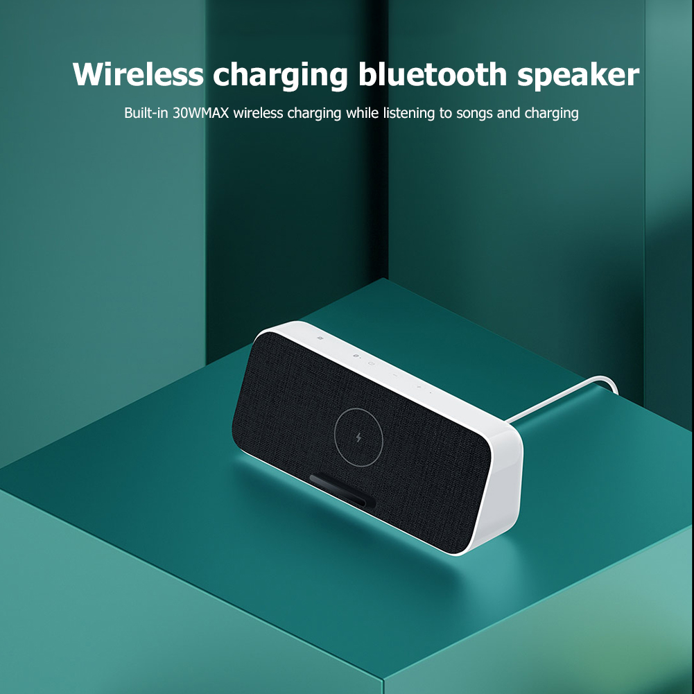 Xiaomi 30W QI charger + Bluetooth speaker  4