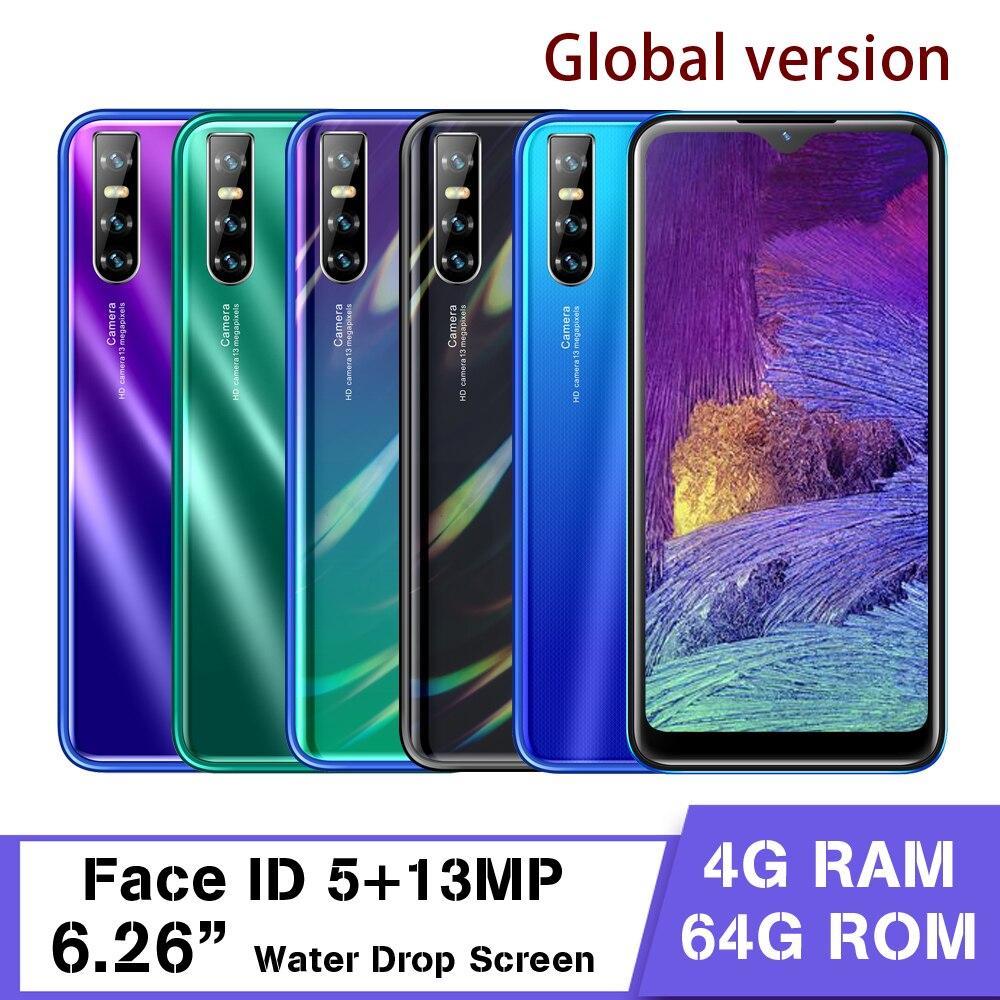 A50s смартфон с 5,5-дюймовым дисплеем, четырёхъядерным процессором, озу 4 гб, пзу 64 гб, 13 мп