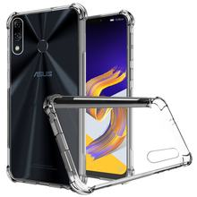 For Asus Zenfone 5 ZE620KL Clear Soft case For Asus Zenfone 5z ZS620KL Reinforced Corner Cover For Asus Zenfone 5 Lite ZC600KL(China)