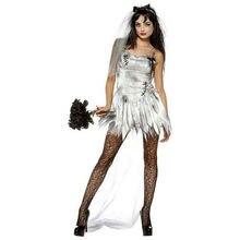 Женский костюм вампира на Хэллоуин привидения невесты женская