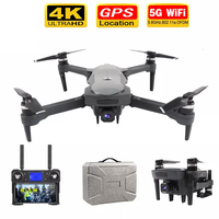 2021 neue K20 Drone Faltbare 4K HD Profesional Kamera Dual mit GPS One-Key-Rückkehr Headless Modus Folgen FPV Drohnen Spielzeug Geschenke