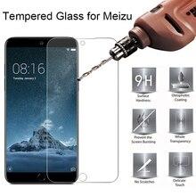 9H HD Закаленное стекло протектор экрана для Meizu Pro 7 6 Plus 5 защитное стекло на Meizu 16 Plus 15 Lite