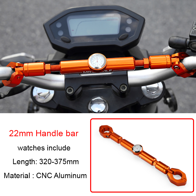 2019 Motowolf Motorcycle Holder Styling Multifunction 22mm Handlebar Very Cool Crossbar With Watches