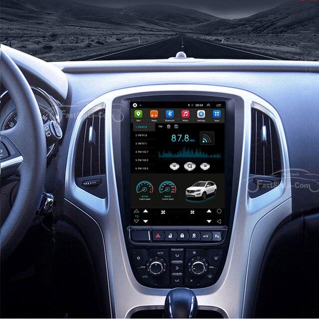 64GB Android Auto MP3 Multimedia player für Opel Astra J Vauxhall Astra Buick Verano GPS Vertikale bildschirm navigation