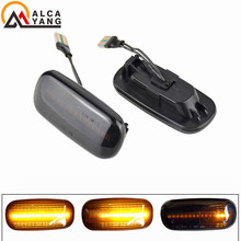 цена на 2 pieces Led Dynamic Side Marker Light Turn Signal Light Sequential Blinker Light For Audi A3 S3 8P A4 B6 B8 B7 S4 RS4 A6 S6 C5