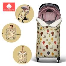 Детское одеяло, чехол для коляски, зимнее теплое Пеленальное Одеяло для новорожденных, Пеленальное Одеяло для сна, непромокаемое покрывало