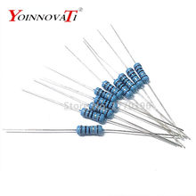 20pcs 2W 20 ohm 2W 20R Metal film resistor 2W resistance(China)