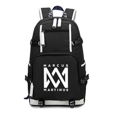 Marcus and Martinus Backpack Children Boys Girls School Bag Fashion Unique Kids Backpack Large Capacity Travel laptop Backpack