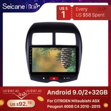 "Seicane 10.1"" Android 10.0 Car GPS multimedia Radio Navi player For CITROEN C4 2010 2011 2014 2015 Mitsubishi ASX Peugeot 4008"