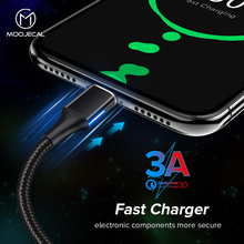3A LED Magnetic Cable For iPhone XS X XR 7 Quick charge Type c cable Fast charging For Samsung Usb micro phone magnet Charger 3a led magnetic cable for iphone xs x xr 7 quick charge type c cable fast charging for samsung usb micro phone magnet charger