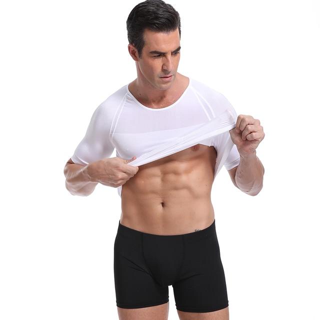 Classix Men Body Toning T-Shirt Slimming Body Shaper Corrective Posture Belly Control Compression Man Modeling Underwear Corset 5