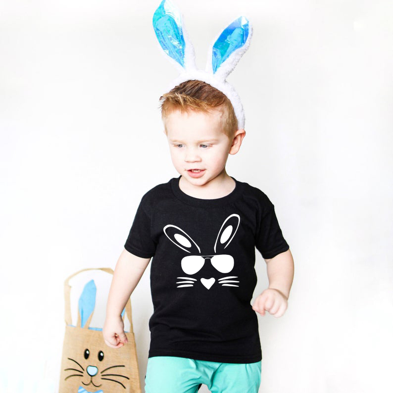 Boys Easter Shirts  Funny Easter T-Shirt Toddler Boy Easter Tops Tee Shirts Baby Easter Bunny Shirt Children Fashion Clothes