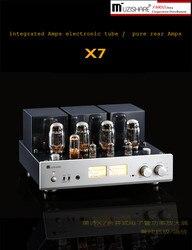 Czysta ręczna aktualizacja MUZISHARE X7 KT88 wzmacniacz lampowy Push-Pull GZ34 wzmacniacz lampowy najlepiej sprzedający się z Phono