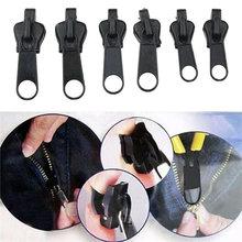 6Pcs Zipper Reparatur Kit Universal Instant-Zipper Fixer Mit Metall Rutsche Fix Alle Sofort 3 Verschiedene Zipper Größen Nähen
