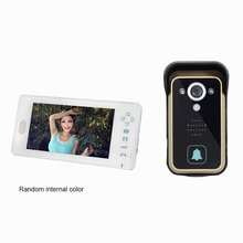 7 inch Wireless Doorbell Video Door Phone Intercom System HD Digital Camera Night Vision Home Security Monitor for Building yobangsecurity 7 inch video door phone doorbell video entry system intercom home security kit 1camera 3monitor night vision