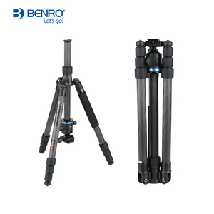 Image 3 - Benro iF18C+ Tripod Carbon Fiber Portable Reflexed Monopod Camera Stand For DSLR Carrying Bag Max Loading 10kg